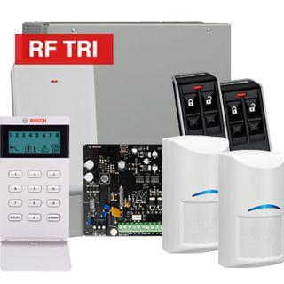 BOSCH, Solution 3000, Wireless Alarm kit, Includes ICP-SOL3-P panel, IUI-SOL-ICON keypad, 2x RFDL-11 Wireless Tri-Tech detectors, B810 Wireless receiver, 2x RFKF-FB transmitters,