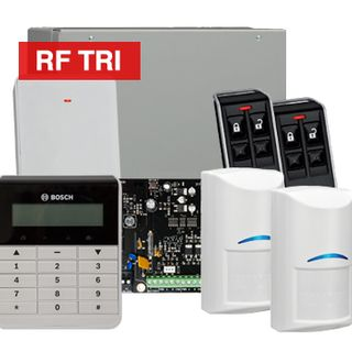 BOSCH, Solution 3000, Wireless Alarm kit, Includes ICP-SOL3-P panel, IUI-SOL-TEXT LCD keypad, 2x RFDL-11 Wireless Tri-Tech detectors, B810 Wireless receiver, 2x RFKF-FB transmitters,