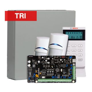 BOSCH, Solution 2000, Alarm kit, Includes ICP-SOL2-P panel, IUI-SOL-ICON LCD keypad, 2x ISC-BDL2-WP12G PIR detectors
