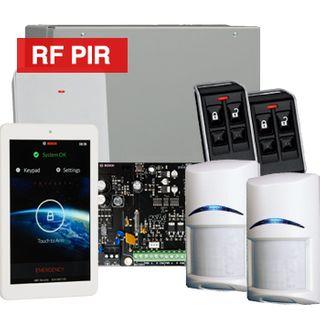 "BOSCH, Solution 3000, Wireless Alarm kit, Includes ICP-SOL3-P panel, 7"" Touchscreen keypad, 2x RFPR-12 Wireless PIR detectors, B810 Wireless receiver, 2x RFKF-FB transmitters,"