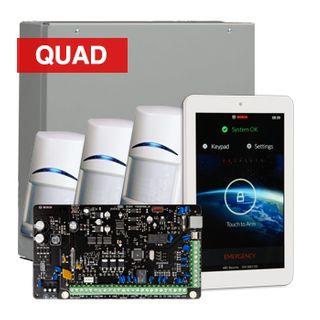 "BOSCH, Solution 3000, Alarm kit, Includes ICP-SOL3-P panel, IUI-SOL-TS7 7"" Touch screen, 3x ISC-BPQ2-W12 PIR detectors"