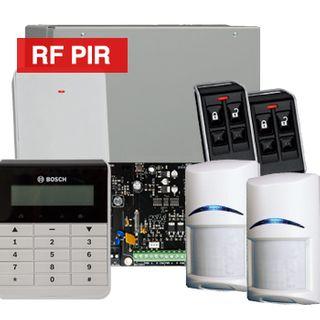 BOSCH, Solution 3000, Wireless Alarm kit, Includes ICP-SOL3-P panel, IUI-SOL-TEXT LCD keypad, 2x RFPR-12 Wireless PIR detectors, B810 Wireless receiver, 2x RFKF-FB transmitters,