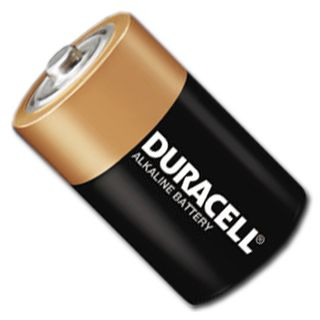 BATTERY, D size alkaline