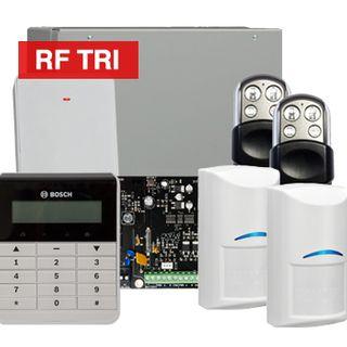 BOSCH, Solution 3000, Wireless Alarm kit, Includes ICP-SOL3-P panel, IUI-SOL-TEXT keypad, 2x RFDL-11 Wireless Tri-Tech detectors, B810 Wireless receiver, 2x HCT4UL transmitters