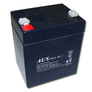 BATTERY, 12 Volt 4 AH sealed lead acid, Dimensions (not inc. terminals) 89(W)mm x 69(D)mm x 100(H)mm