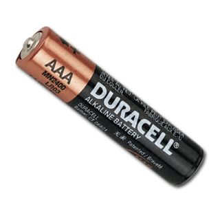BATTERY, AAA size alkaline