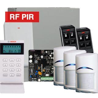 BOSCH, Solution 3000, Wireless Alarm kit, Includes ICP-SOL3-P panel, IUI-SOL-ICON LCD keypad, 3x RFPR-12 Wireless PIR detectors, B810 Wireless receiver, 2x RFKF-FB transmitters