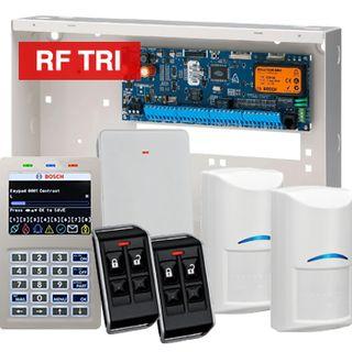 BOSCH, Solution 6000, Wireless alarm kit, Inc CC600PB panel, CP722B Smart Prox LCD keypad, 2x RFDL-11 wireless Tritech detectors, RFRC-STR2 Radion receiver, 2x RFKF-FB transmitters