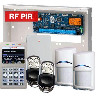 BOSCH, Solution 6000, Wireless alarm kit, Inc CC600PB panel, CP722B Smart Prox LCD keypad, 2x RFPR-12 wireless PIR detectors, RFRC-STR2 Radion receiver, 2x HCT-4UL transmitters
