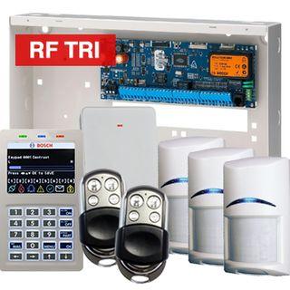 BOSCH, Solution 6000, Wireless alarm kit, Inc CC600PB panel, CP722B Smart Prox LCD keypad, 3x RFDL-11 wireless PIR detectors, RFRC-STR2 Radion receiver, 2x HCT4UL transmitters