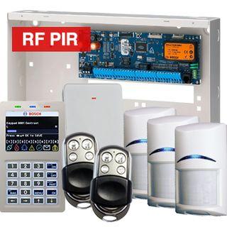 BOSCH, Solution 6000, Wireless alarm kit, Inc CC600PB panel, CP722B Smart Prox LCD keypad, 3x RFPR-12 wireless PIR detectors, RFRC-STR2 Radion receiver, 2x HCT4UL transmitters