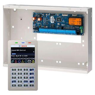 BOSCH, Solution 6000, Alarm kit, Includes CC600PB panel, CP722B Smart Prox LCD keypad & MW350 cabinet