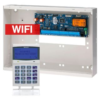 BOSCH, Solution 6000, Alarm kit, Includes CC600PB panel, CP741B WIFI LCD keypad & MW350 cabinet
