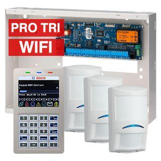 BOSCH, Solution 6000, Alarm kit, Includes CC600PB panel, CP741B LCD WIFI keypad, 3x ISC-PDL1-W18G PIR detectors