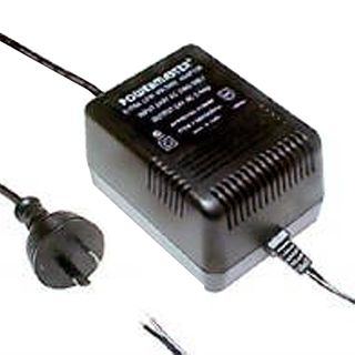 POWERMASTER, 66L Series, Power supply, 24V AC, 2 amp, Tinned leads