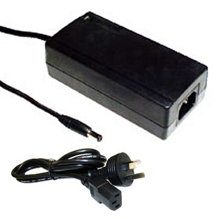 POWERMASTER, 42D Series, Switch mode power supply, 12V DC, 3.5 amp, Regulated, 2.5mm DC plug, Centre positive, Includes 1 x K3750 IEC lead.