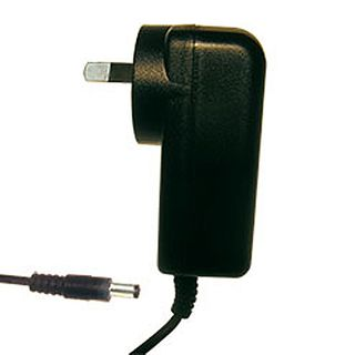 POWERMASTER, 12J Series, Switch mode power supply, Plug pack, 12V DC, 1 amp, Regulated, 2.1mm DC plug, Centre positive