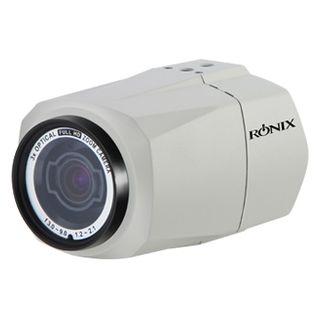 "RONIX, HD-SDI full body camera, WDR, 2.3MP/Full HD 1080p 1/2.9"" CMOS, 3X (3.0 - 9.0mm) megapixel AF AI zoom lens, Day/Night (ICR), 0.0008Lux (sens-up), 12V DC/24V AC"