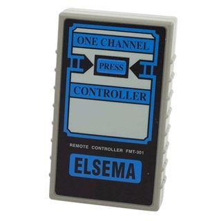 ELSEMA, Transmitter, 1 Channel, Hand held, 27MHz FM signal, With audible indicator, Requires 9V battery