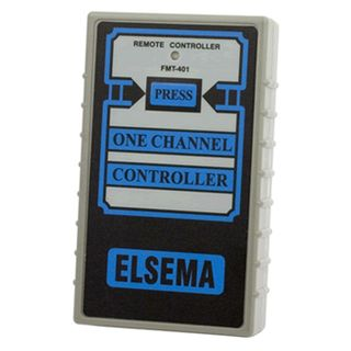 ELSEMA, Transmitter, 1 Channel, Hand held, 27MHz FM signal, With silent LED indicator, Requires 9V battery
