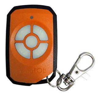 ELSEMA, PentaFOB Transmitter, 5 Channel, Hand held pendant/keyring, 433 MHz FM signal, Includes 3.3V battery, Orange
