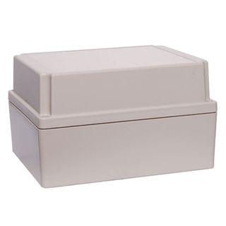UB1 ABS Black Jiffy Box 157x95x53mm