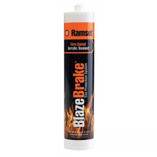 RAMSET, Blaze brake, Fire retardant acrylic sealant, 450g cartridge,