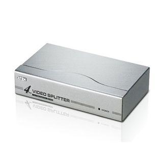 ATEN, Splitter, 4 Port video, 1 video input (VGA), 4 video output (VGA), 250Mhz, 1920 x 1440 @ 60Hz up to 65mt,