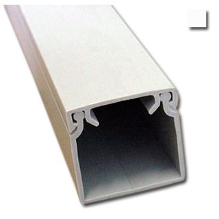 AUSSIEDUCT, Duct, 25 x 25mm, White, 3.1m length
