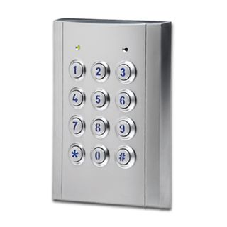 BOSCH, Solution 6000, Key pad, External, Stainless, 144 zone,Touch tone & backlit keys, Suits Solution 6000 panel,