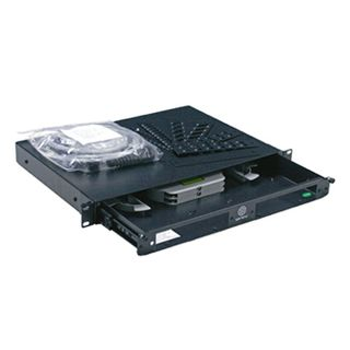 GARLAND, Fobot, 24 port sliding drawer, 1RU, Suits LC/ST/SC connectors,