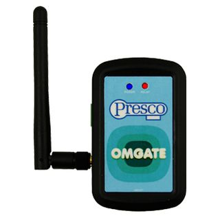 NIDAC (Presco), OMGATE Single Door Bluetooth Device, controlled via free OMGATE App,