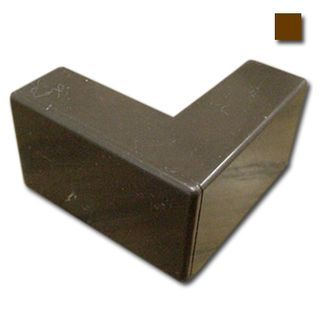AUSSIEDUCT, 16 x 10mm, External angle, Brown,