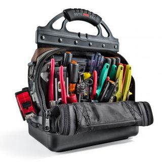 VETO PRO PAC, Tech Series, Large HVAC technician tool bag, Closed style, 53 tiered pockets, 6 zippered pockets, Weather resistant base & fabric, 350(L) x 240(W) x 480(H)mm