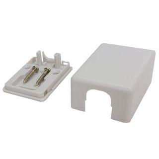 DATAMASTER, RJ12/45 'Mode 3' Surface mount box, Single gang,