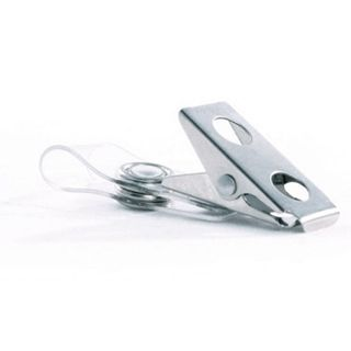 NETDIGITAL, Card attachment, Alligator clip, Metal, With PVC U-strap and raised snap, No safety pin, Min order of 100x,