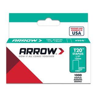 "ARROW, Staples, T20, 1/2"" (12mm), Pkt 1000"