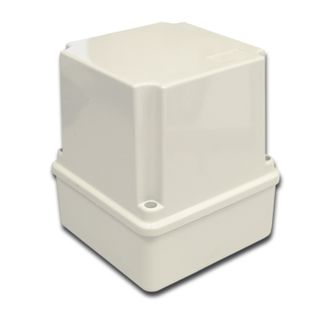 NETDIGITAL, Enclosure, Thermo plastic, Grey, Weather resistant, IP56 rated, 100(L) x 100(W) x 120(D)mm,