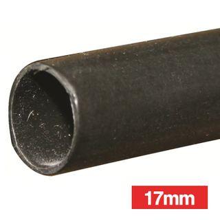NETDIGITAL, Heat shrink tubing, Black, 17.0mm, 1.2m length, 4:1 shrink ratio, Thickwall, Glue lined,