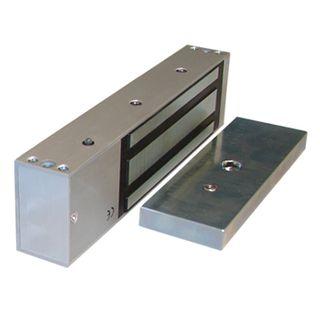 GEM, Electromagnetic lock, Single door, Surface mount, Monitored, 545kg holding force, Full size, 266(L) x 68(H) x 40(D)mm, 12VDC/24VDC, 500/250mA,