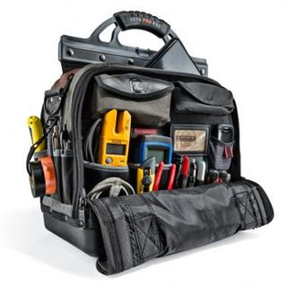VETO PRO PAC, Laptop Series, Extra-large HVAC technician laptop tool bag, Closed style, 58 tiered pockets, 4 zippered pockets, Weather resistant base & fabric,  419(L) x 241(W) x 514(H)mm,