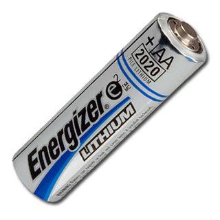 BATTERY, Energizer AA size lithium,