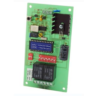 ELSEMA, Receiver, 2 Channel, 27MHz FM signal, 2 x 5A/240V relay outputs, 12V AC/DC,