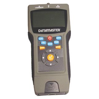DATAMASTER, Hand held Cat5 LAN Tester, Professional, LCD Display, easy to read status, Tests & displays length  of Lan & Coaxial cables,
