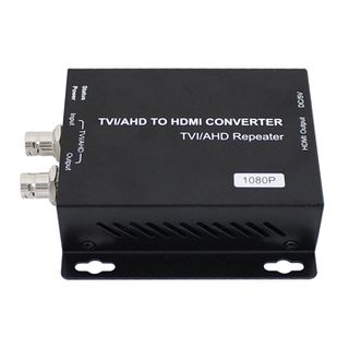XTENDR, AHD/TVI to HDMI converter, AHD/TVI 2.0 720P/1080P input, HDMI 1080p@60Hz output, up to 300m over coax, 5V DC 1 amp