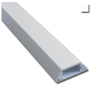 AUSSIEDUCT, Duct, 10 x 6mm, Adhesive backed, White, 4m length,