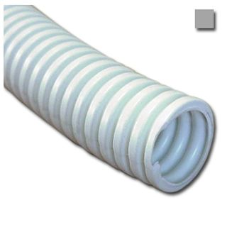 AUSSIEDUCT, Corrugated conduit, 32mm x 25m coil, Grey, Medium duty, No draw wire,