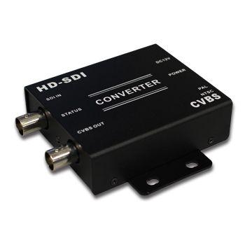 XTENDR, HD-SDI to CVBS converter, HD-SDI 1080P input, CVBS composite video output,