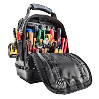 VETO PRO PAC, Tech Series, Medium HVAC technician tool bag, Closed style, 44 tiered pockets, 12 zippered pockets, Weather resistant base & fabric, 252(L) x 202(W) x 352(H)mm,