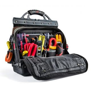 VETO PRO PAC, Tech Series, Extra-large HVAC technician tool bag, Closed style, 80 tiered pockets, 14 neoprene pockets, Weather resistant base & fabric, 420(L) x 240(W) x 527(H)mm